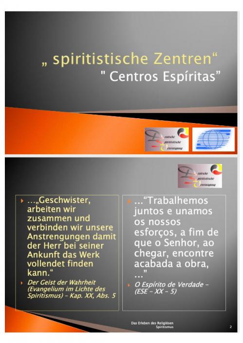 Das Spiritistische Zentrum