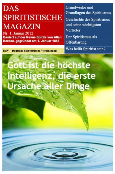 Das Spiritistische Magazin Ausgabe 1