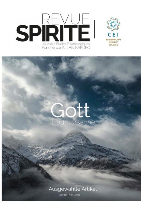 Revue Spirite Ausgabe 1