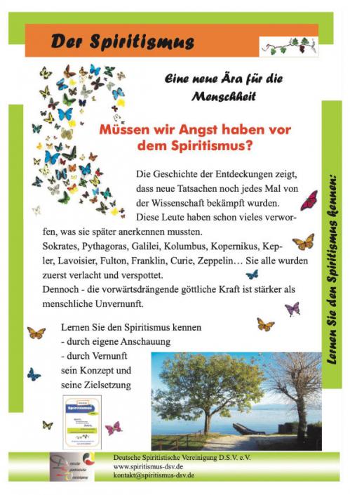 Spiritismus - eine neue Ära